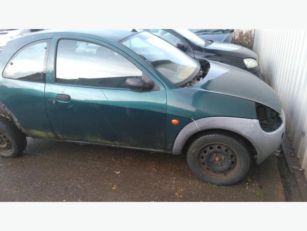 Ford Ka Breaking For Spare Parts Green