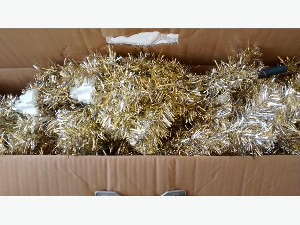 Christmas tree champagne gold 6ft