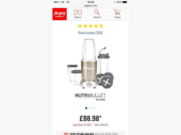 Bullet blender willenhall sandwell for What brand of blender is used on the chew