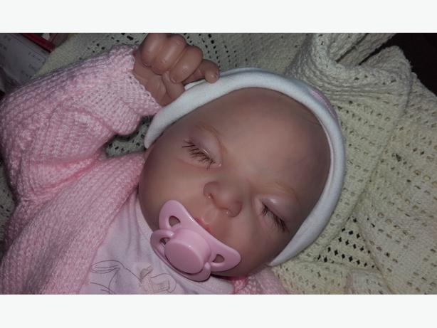 "Reborn Baby Girl Doll 20"" Magnetic Dummy - Brand New"
