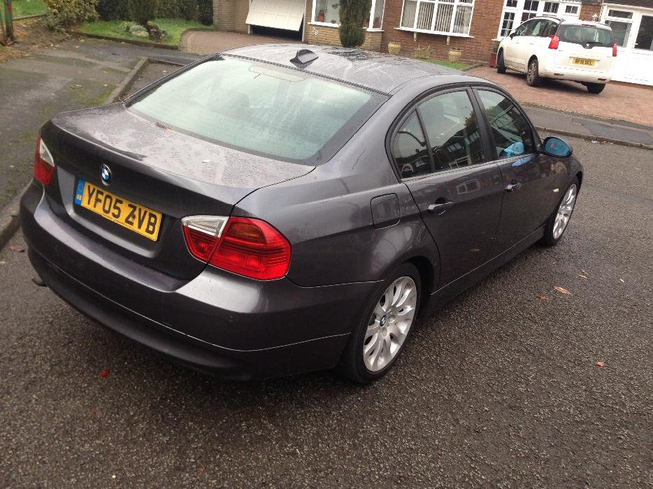 bmw 320d se 2005 05 plate e90 saloon sat nav leather seats other black country location dudley. Black Bedroom Furniture Sets. Home Design Ideas