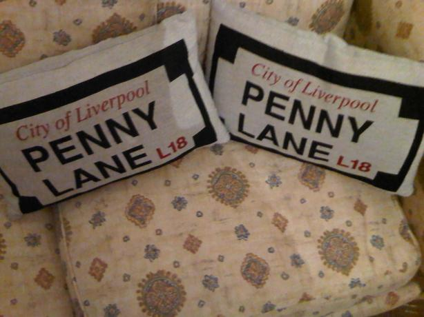 The beatles cushions