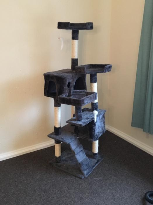 5ft cat play tower walsall dudley. Black Bedroom Furniture Sets. Home Design Ideas