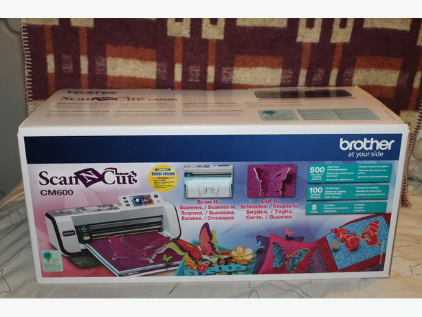 Deluxe Brother Scan & Cut CM600 & Accessories