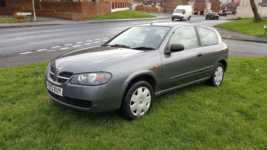 nissan almera 1 5 petrol 2003 coseley sandwell. Black Bedroom Furniture Sets. Home Design Ideas