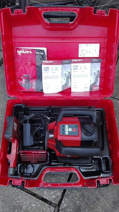 Hilti Pr 35 Rotary Laser Level Red Beam West Bromwich