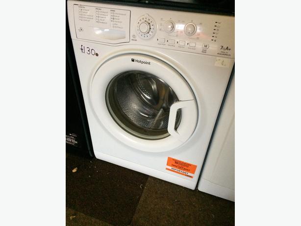 Hotpoint 7kg White Washing Machine Wolverhampton Dudley