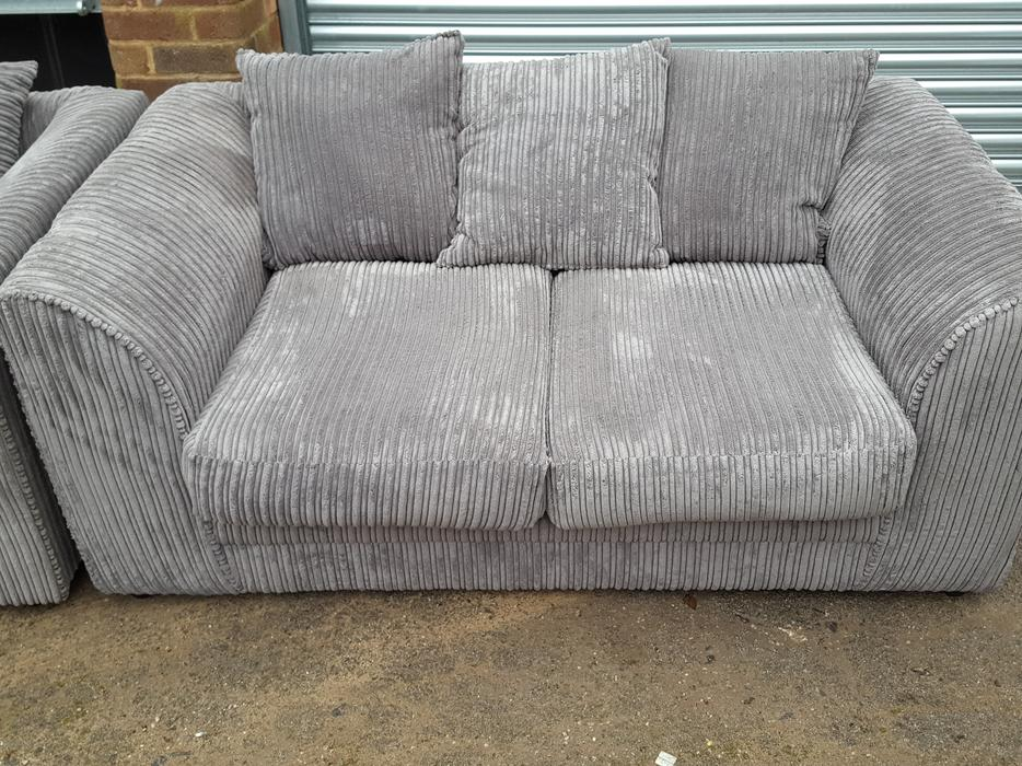 brand new grey cord sofa deliver sandwell wolverhampton mobile. Black Bedroom Furniture Sets. Home Design Ideas