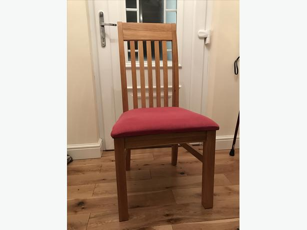 Ladderback chairs set of four