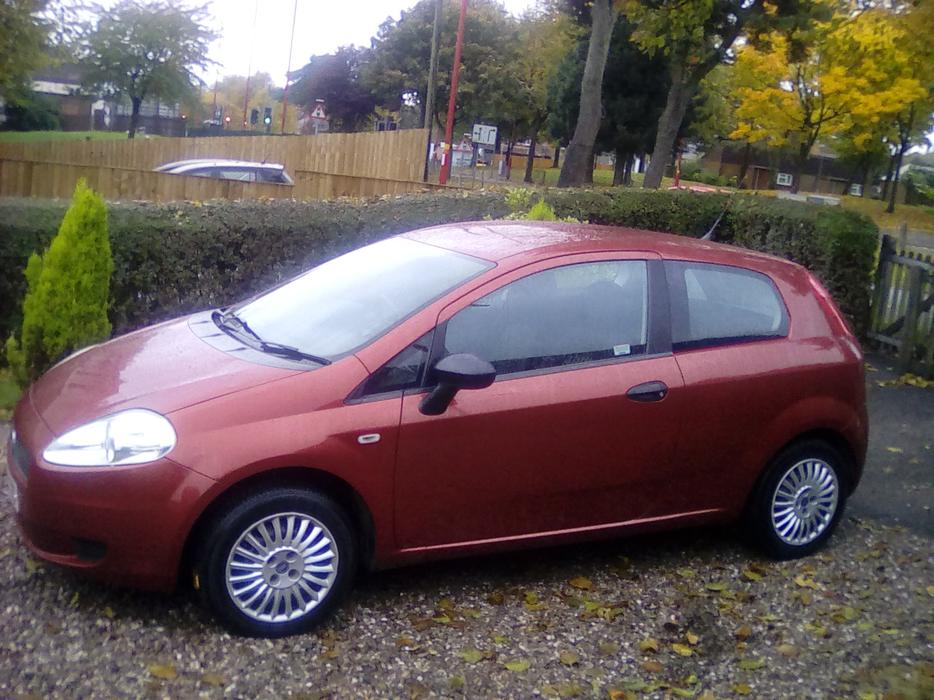 2006 fiat grande punto active 65 red 3 door. Black Bedroom Furniture Sets. Home Design Ideas