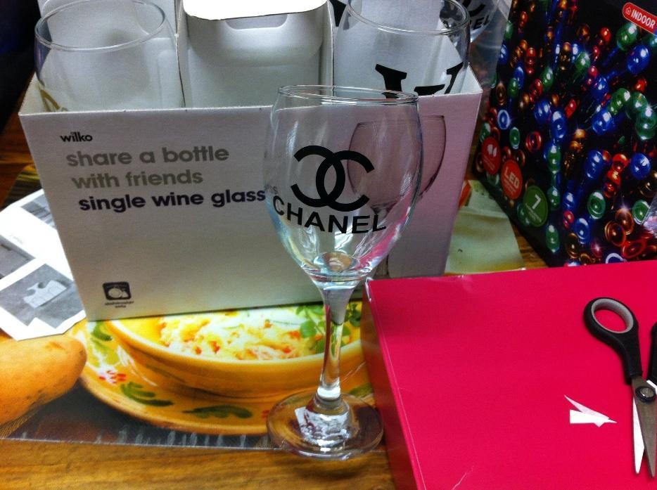 Designer Wine Glass West Bromwich Sandwell