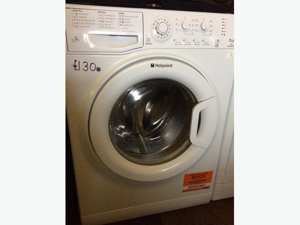 Special Offer 7kg Hotpoint Washing Machine Wolverhampton