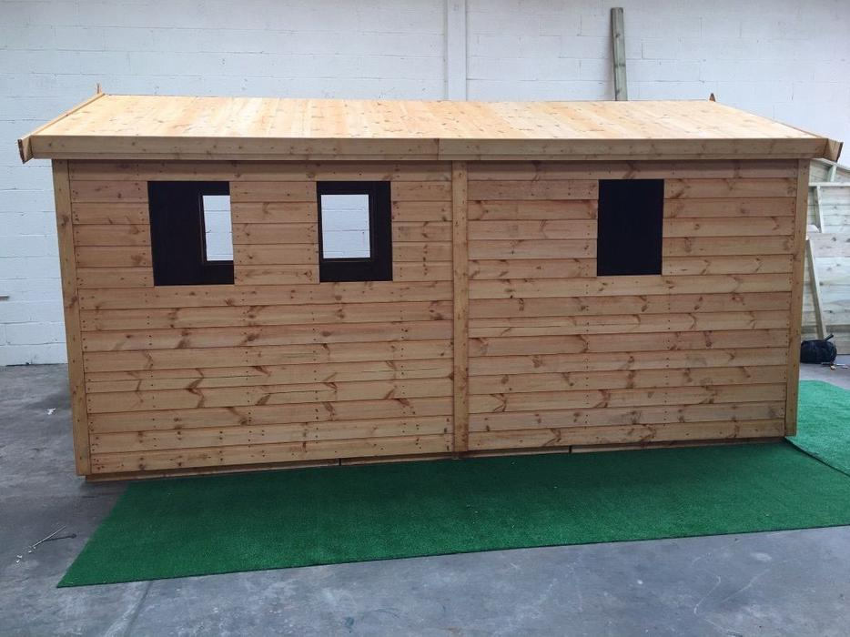 Garden sheds free installation dudley walsall for Garden shed installation