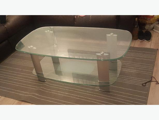 Glass coffee table for sale dudley dudley Used glass coffee table