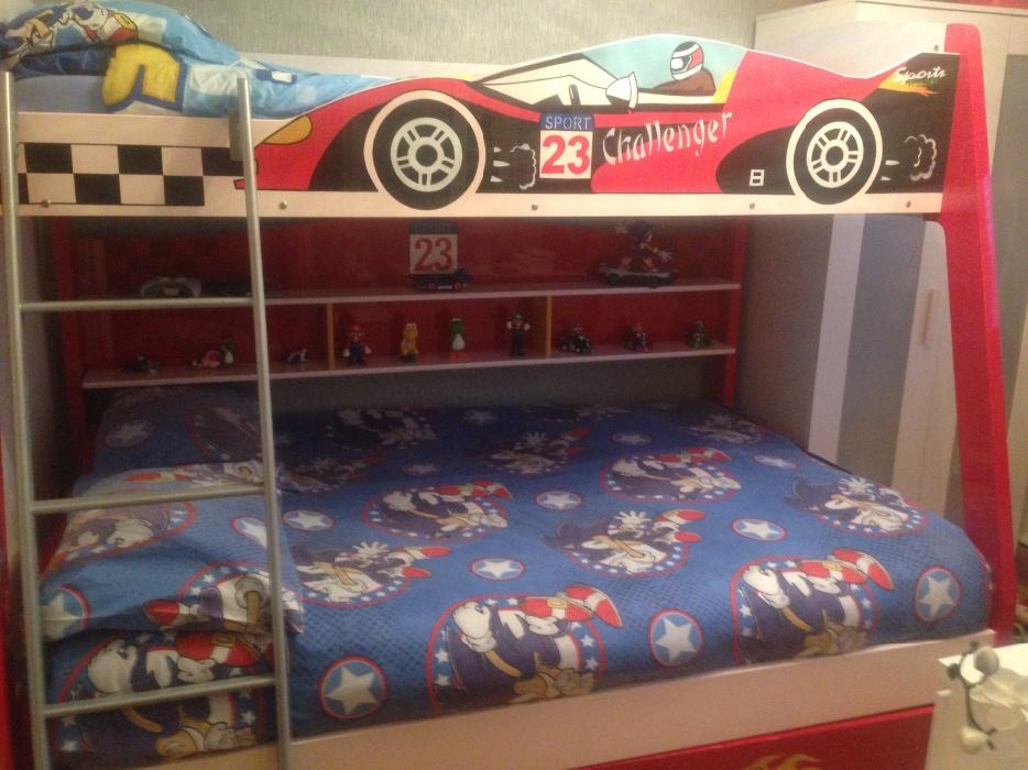 Racing Car Bunk Bed Dudley Sandwell