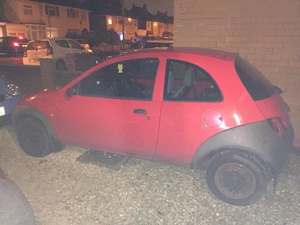 Ford Ka Breaking For Spares  Plate