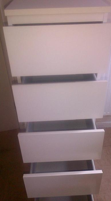 Ikea malm chest of 5 drawers wednesbury dudley - Mobile malm ikea ...