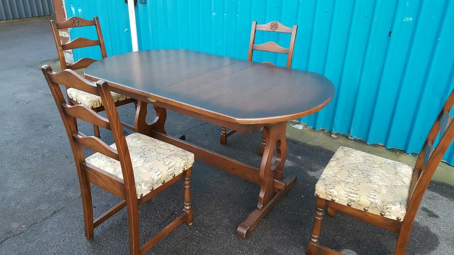 Dining Table and Chairs WALSALL Wolverhampton : 106212050934 from www.usedwolverhampton.co.uk size 934 x 525 jpeg 84kB
