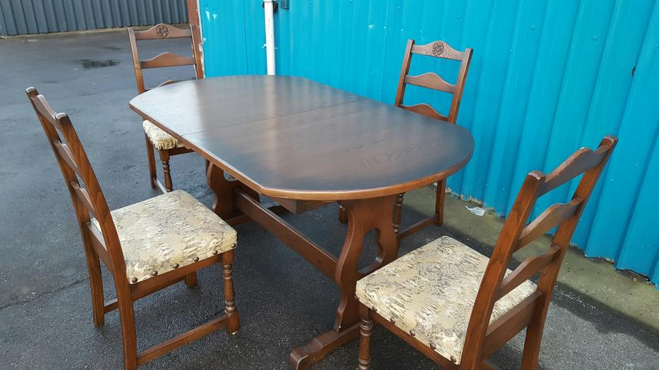 Dining Table and Chairs WALSALL Wolverhampton : 106212051934 from www.usedwolverhampton.co.uk size 934 x 525 jpeg 75kB