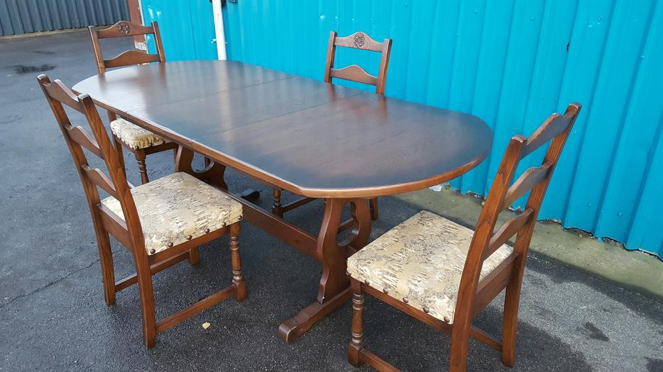 Dining Table and Chairs WALSALL Wolverhampton : 106212054934 from www.usedwolverhampton.co.uk size 934 x 525 jpeg 82kB