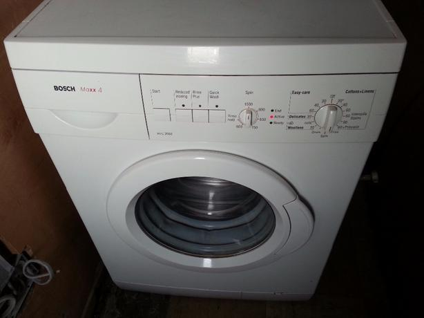 bosch shallow fit maxx 4 washing machine good condition. Black Bedroom Furniture Sets. Home Design Ideas
