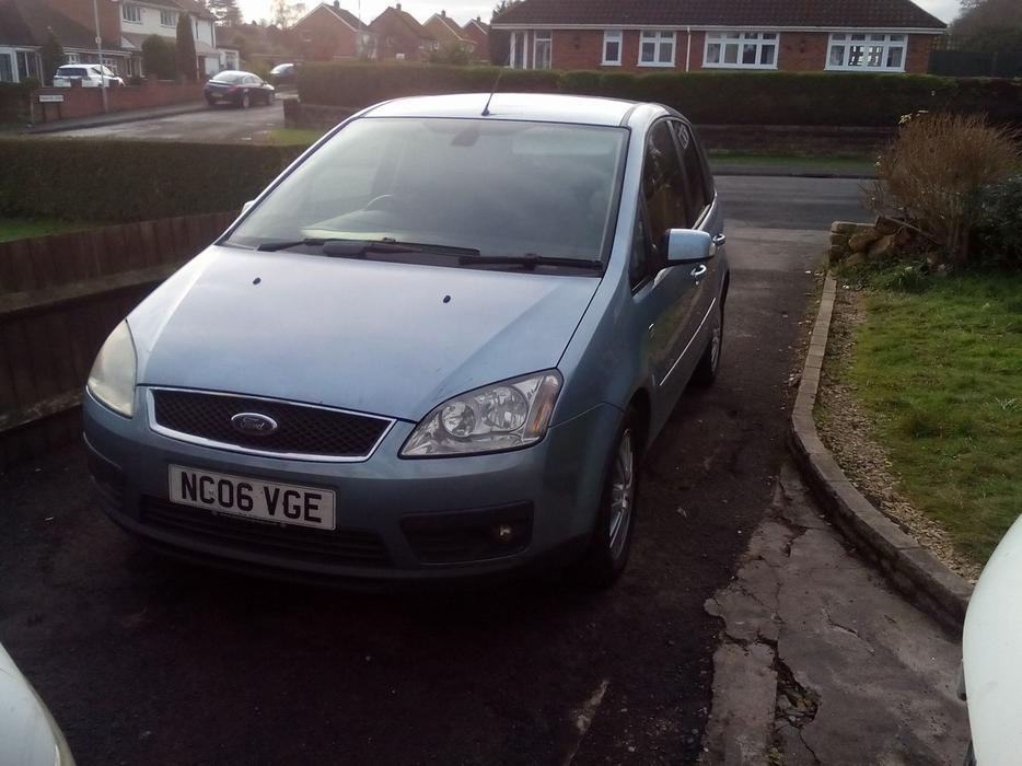2006 ford focus c max 2 0 petrol ghia automatic outside for Ford focus 2006 interieur