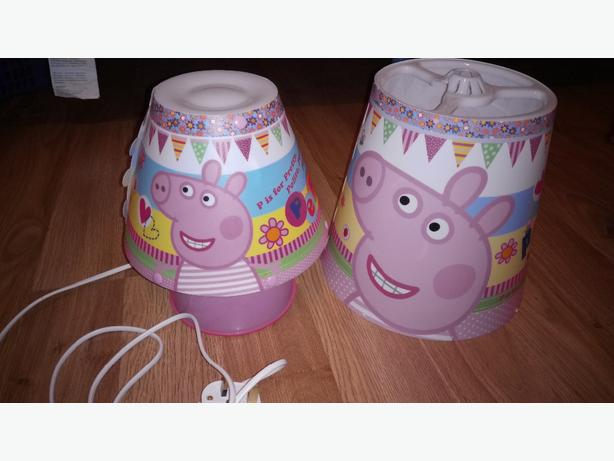 Peppa pig dudley wolverhampton for Peppa pig lamp and light shade