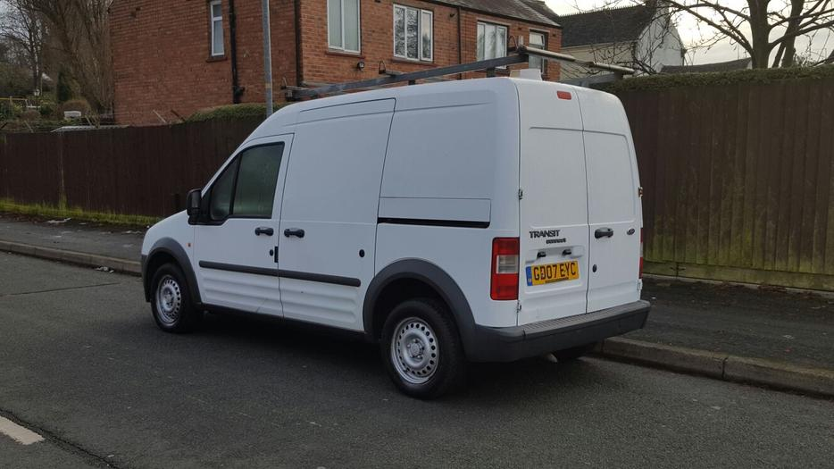 ford transit connect l230 lwb high top 07 clean with removable roof rack bilston walsall mobile. Black Bedroom Furniture Sets. Home Design Ideas