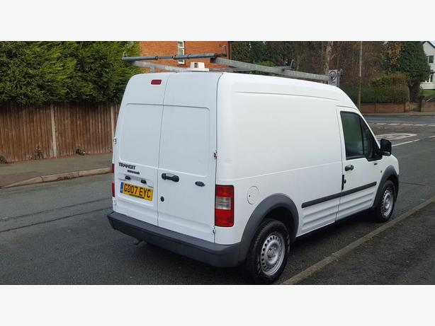 ford transit connect l230 lwb high top 07 clean with removable roof rack bilston sandwell. Black Bedroom Furniture Sets. Home Design Ideas