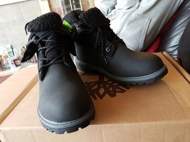 black timberlands size 7