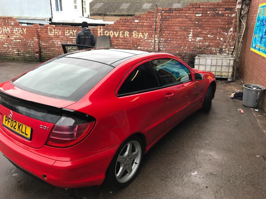 mercedes c220 cdi coupe sport panroof top spec dudley sandwell. Black Bedroom Furniture Sets. Home Design Ideas