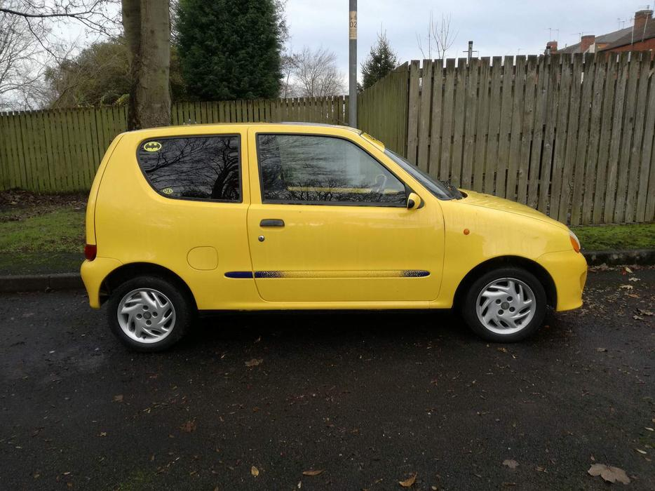 fiat seicento sporting other wolverhampton. Black Bedroom Furniture Sets. Home Design Ideas