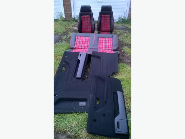 MK2 VW GOLF 3DR INTERIOR & FRONT AND REAR BUMPERS