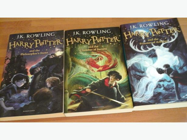 3 X Harry Potter books