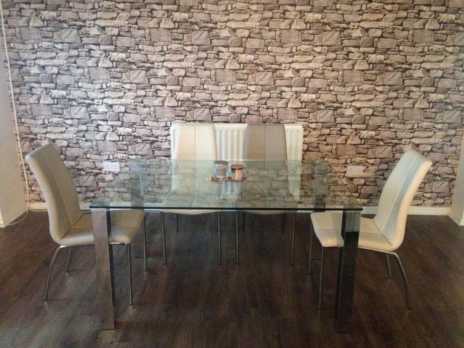 NEXT DINING TABLE amp LEATHER CHAIRS Wednesbury Dudley : 106234085934 from www.useddudley.co.uk size 934 x 700 jpeg 119kB