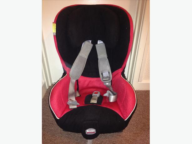 BRITAX EXPLORA STS car seat
