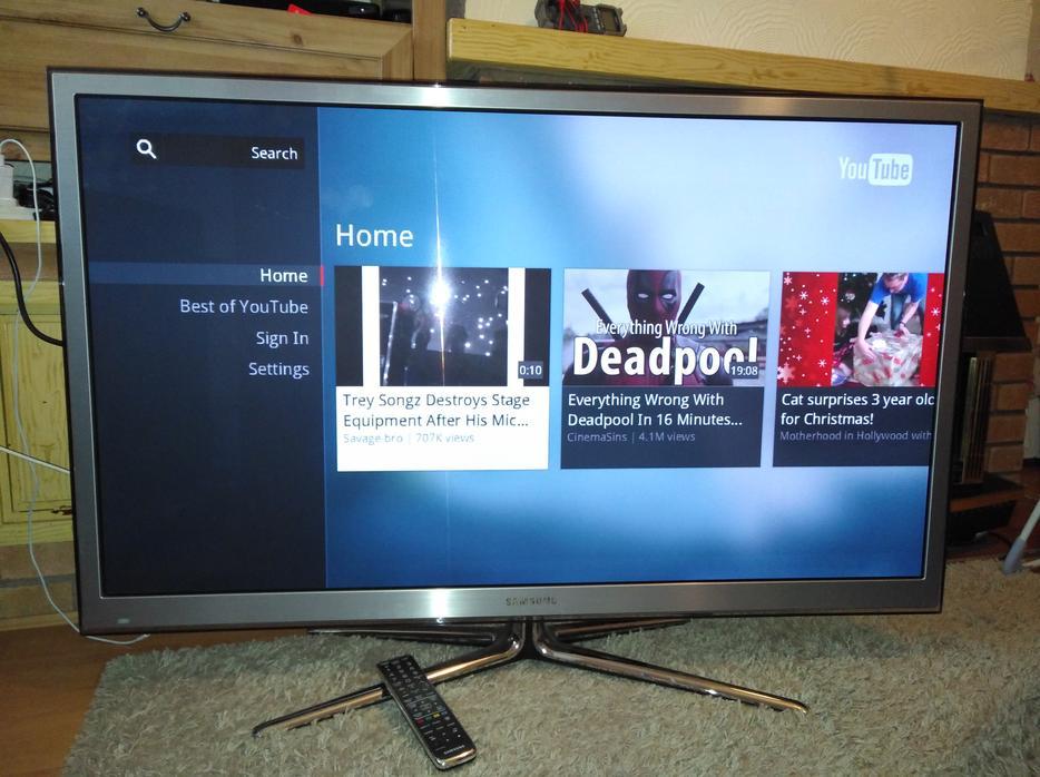 samsung 51 inch fullhd 600hz smart 3d tv wi fi internet. Black Bedroom Furniture Sets. Home Design Ideas
