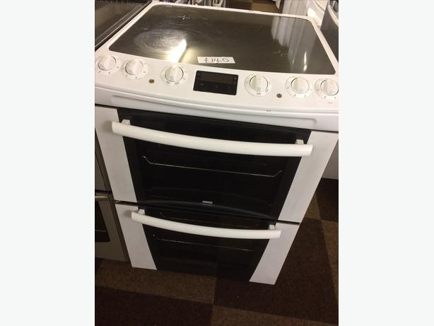 ZANUSSI 60CM DOUBLE OVEN FAN ASSISTED ELECTRIC COOKER\ud83c\uddec\ud83c\udde7 WOLVERHAMPTON, Wolverhampton