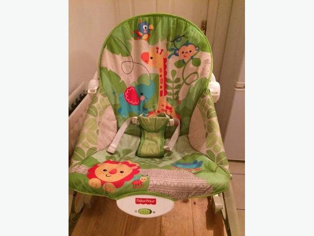 ... 15 · baby chair, rocking chair, Fisher Price Vibrating Rocking Chair