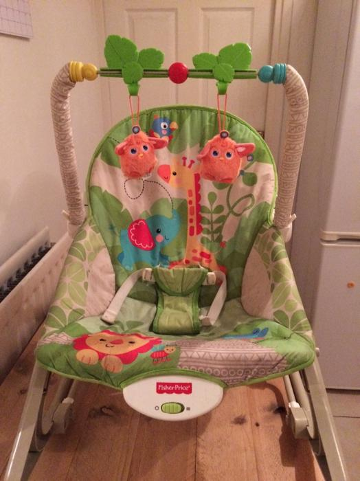 baby chair, rocking chair, Fisher Price Vibrating Rocking Chair ...