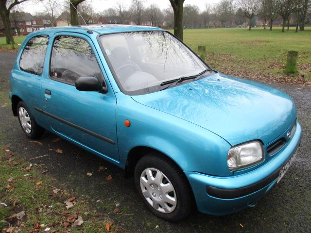 nissan micra 1 0 passion 1998 clean old car mot 7 4 2017. Black Bedroom Furniture Sets. Home Design Ideas