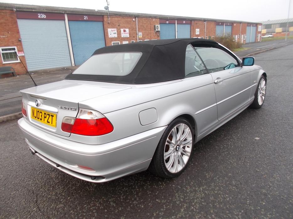 bmw 320 ci 170 bhp convertible outside black country region sandwell. Black Bedroom Furniture Sets. Home Design Ideas