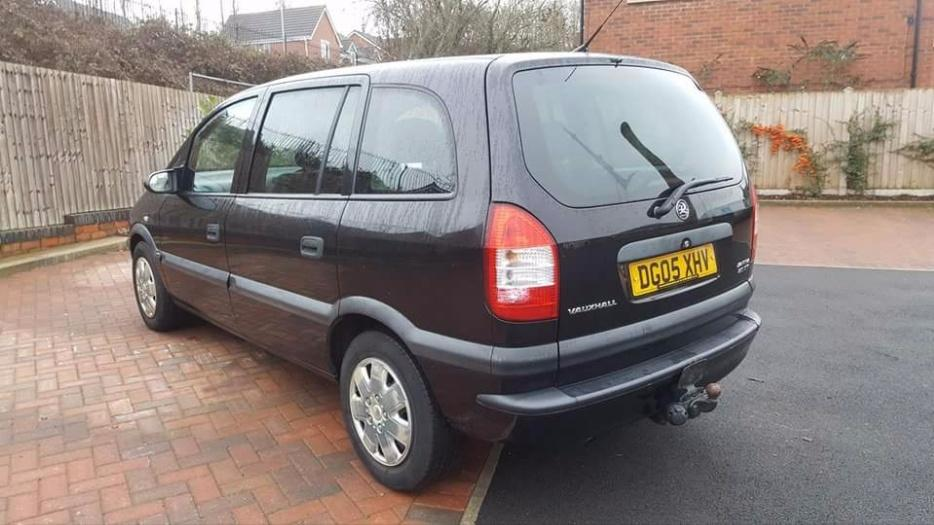 Vauxhall Zafira 2 0 D T I 7 Seater Full Leather 80k Dudley