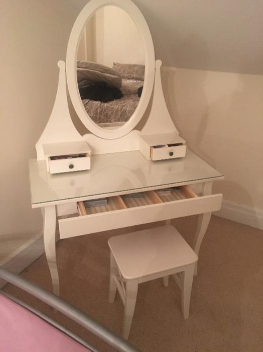 Dressing Table Chairs And Stools: Ikea Dressing Table And Chair WOLVERHAMPTON, Dudley
