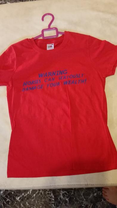 Horse t shirt and hoody adult medium walsall wolverhampton for Adult medium t shirt