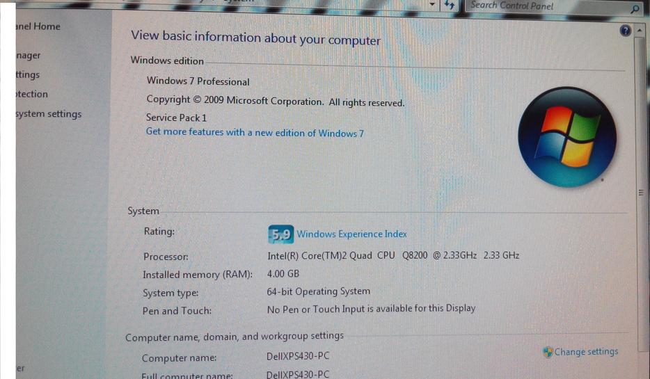 Dell xps 420 miniview