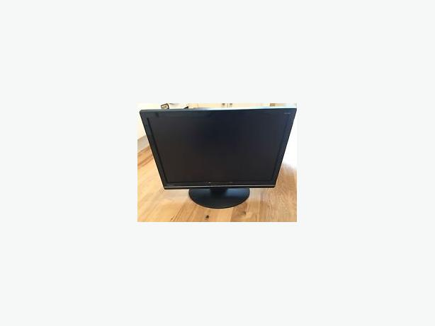 "24"" LCD View-sonic Optiquest PC  monitor ( Black )"