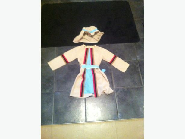 Joseph - Nativity costume - age 4-6.