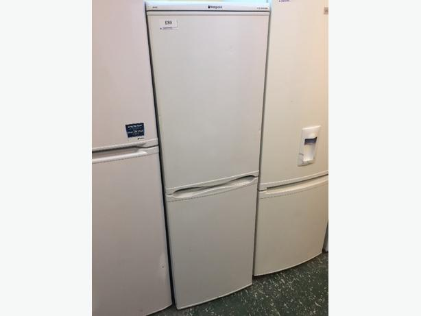 Hotpoint Iced Diamond Fridgefreezer Outside Black Country