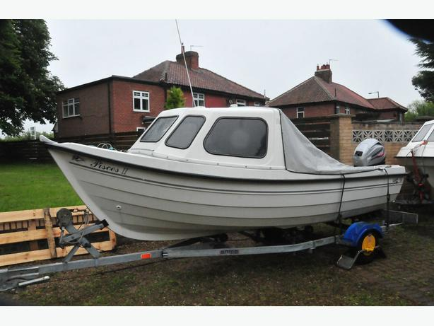 Orkney 520 fast fishing boat hockley birmingham mobile for Fast fishing boats